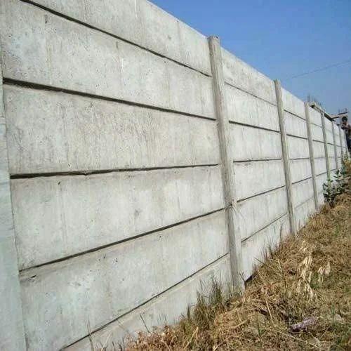 Concrete wall city