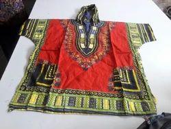 Dashiki Cap Ladies Dress