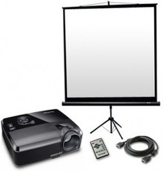 LCD DLP Projector Rental Service, For Business, Projection Distance: 1 - 3.5 m