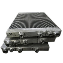 Screw Compressor Aluminum Oil Cooler