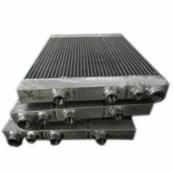 Screw Compressor Aluminum Oil Cooler