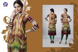 Full Sleeves Ladies Kurti