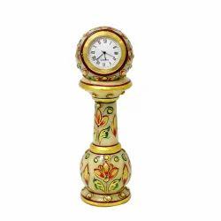 ICH Marble Pillar Clock