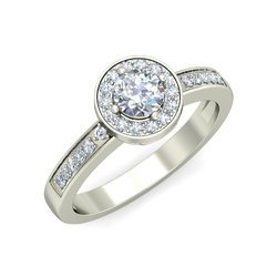 Round Diamond Solitaire Ring