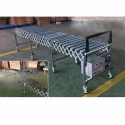 Flexible Gravity Roller Conveyor System