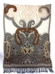 Ladies High Fashion Wool Embroidery Shawls