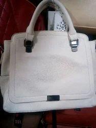 Ladies Leather Look Bag