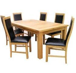 wooden dining table at rs 10000 piece wooden dining table id