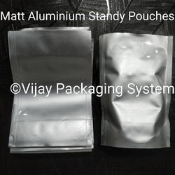 Matt Aluminum Stand Up Pouches