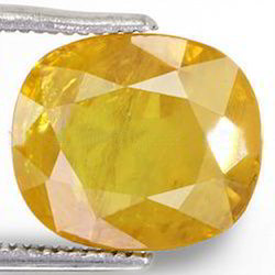 5.94 Carats Yellow Sapphire