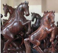 Jumping Horse Wooden