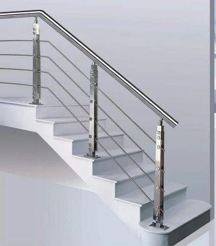 SS Stair Handrail at Rs 1200/foot   SS Handrail, नरम ...