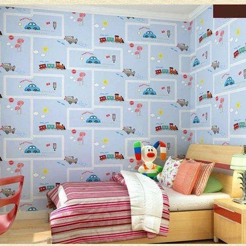 Kids Room Wall Paper Interior Wallpapers Basni Jodhpur