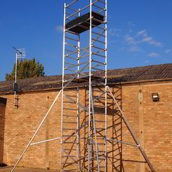 Doublewidth Scaffold Without Stair