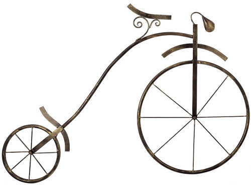 Fanusta Iron Made Early Bicycle Wall Hanging