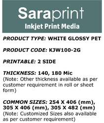 Saraprint Inkjet Print Media