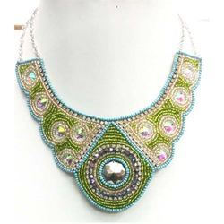 Embroidered Necklace