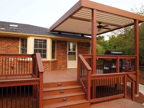 brown and coffee deck covering sundek interio private limited id