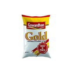 Homogenious and Pasteriuzed Gowardhan Gold Milk, Quantity Per Pack: 200ml 500ml And 1 Ltr