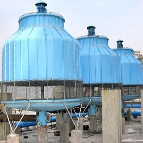 Round Shape Cooling Tower at Rs 125000 /unit(s) | Cooling ...