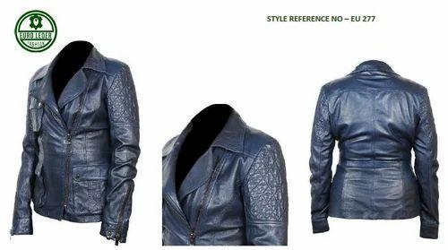 Designer Leather Jacket चमड क ज क ट Euro Leder