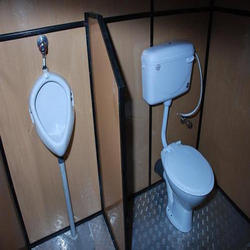 MS Readymade Toilet Cabin