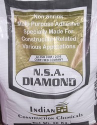 Indian Granite Marble Tile Adhesive, for Tile On Tile, Pack Type: Bag