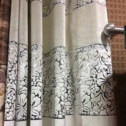 Decorative Printed Window Curtain