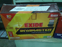 White And Black Exide Invamaster Battery, For Home