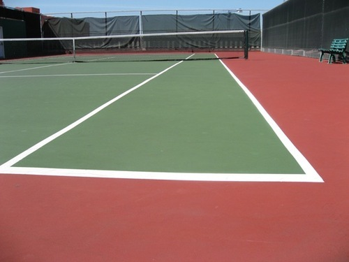 Tennis Court Surface In Fort Mumbai Id 4477230748