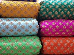 Embroidered Dori Work Fabric