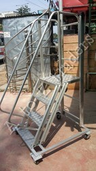 Mobile Aluminum Platform Ladder