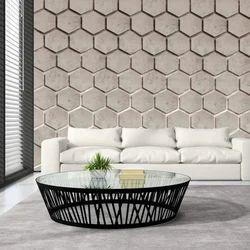 PVC 3D垂直墙纸