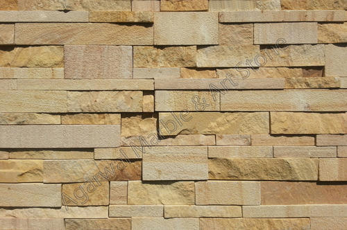 Cladding Stone, क्लैडिंग स्टोन - View Specifications ... Yellow Sandstone Cladding