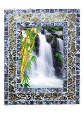 Mosaic Glass Photo Frames
