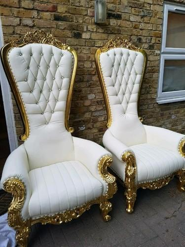 Golden Wooden Stage Chairs