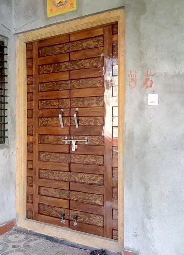 Interior Sagwan Whith Plywood Main Door