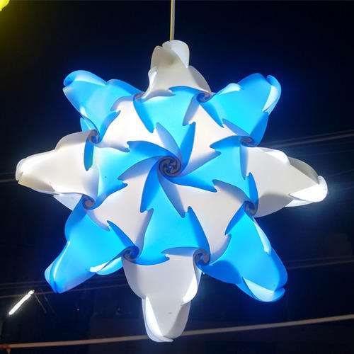 Christmas star lampshade triangle collection makarpura vadodara christmas star lampshade mozeypictures Image collections