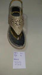 Rexine Ladies Sandal, Size: 38 & 39