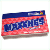 Kitchen Cardboard Matches