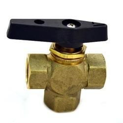 3 Way Handle Brass Ball Valve