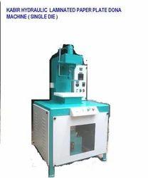 KABIR Hydraulic Laminated Paper Plate Dona Machine