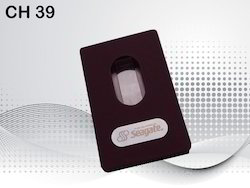 Hand Pushing Business Card Holder
