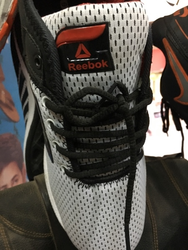 Reebok White Color Net Port Mens Shoes