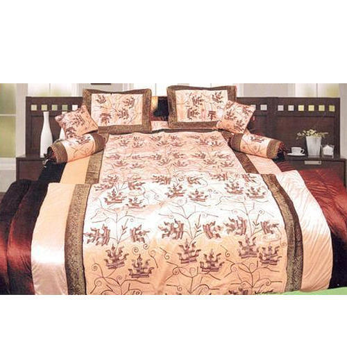 Designer Satin Bed Sheet Set