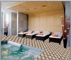 40 x 40 Digital Floor Tile