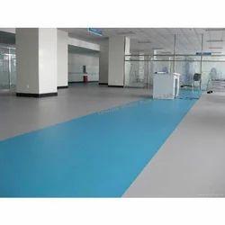 Blue Hospital Vinyl Flooring