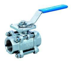 Audco L and T 3 Piece Ball Valve Screwed End