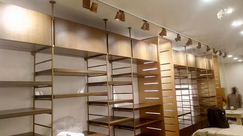 Image result for Metal Retail Shelving System
