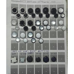 Collour Of Your Choice Coat Buttons Set, Size/dimension: 24 And 32